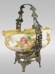 Crown Milano Bride's Bowl with Silver