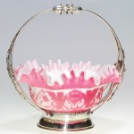 Pink Mount Washington Cameo Bowl