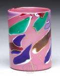 Raspberry Mount Washington Lava Glass