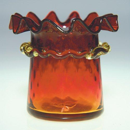 Rose Ambler Vase by Mt Washington