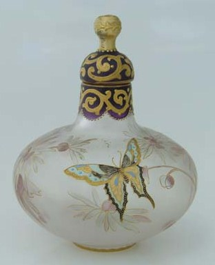 Royal Flemish Bottle with Butterfly