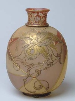 Royal Flemish Vase with Griffin