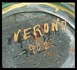 Gold Verona Mark on Vase